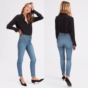 "Everlane 10"" High Rise Skinny Ankle Jeans"
